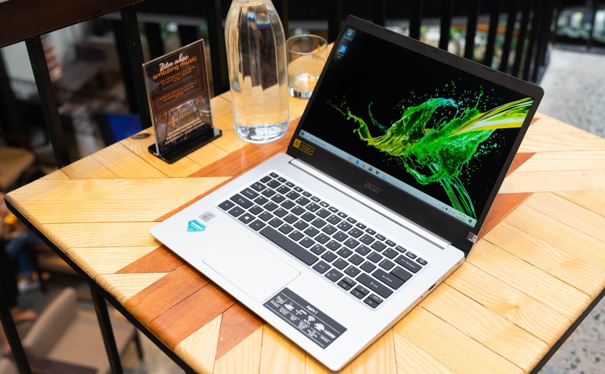 Acer Aspire 5 là laptop trang bị Intel Core i thế hệ 10 đầu tiên bán tại  Việt Nam, từ 11,99 triệu   Tinh tế