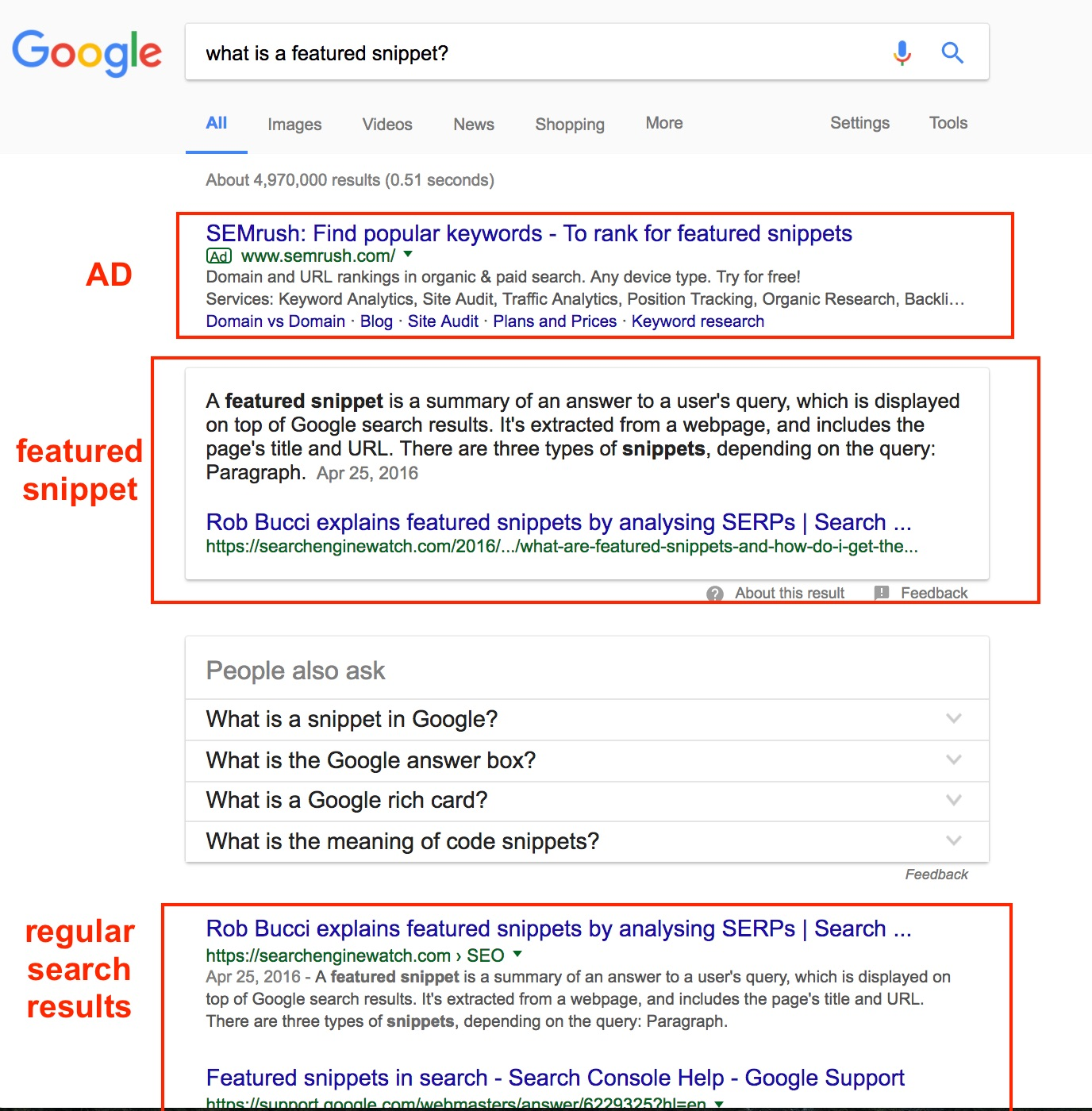 What you can do to get a featured snippet on Google search results - Blue  Skies Marketing