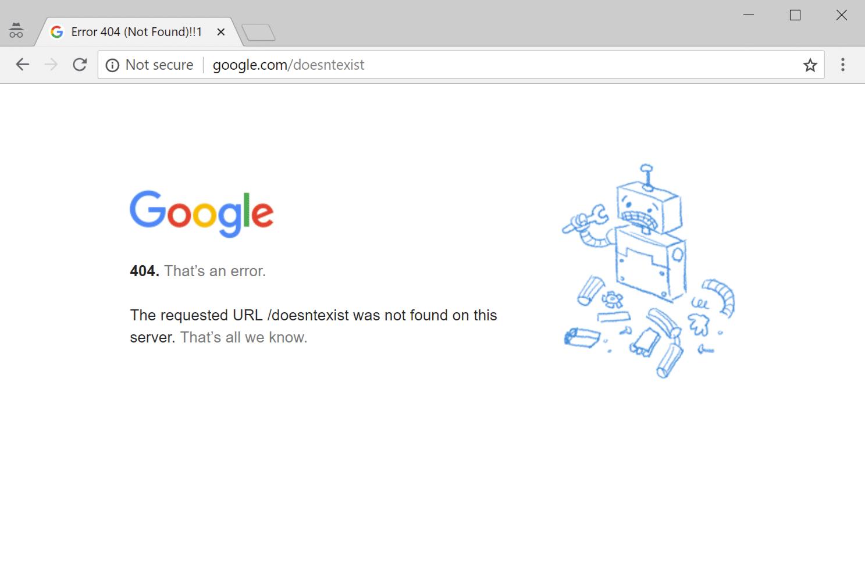 Error 404 not found! - Void Coders