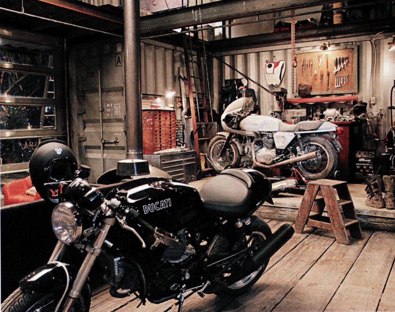Dream home | Motorcycle garage, Motorcycle workshop, Motorcycle
