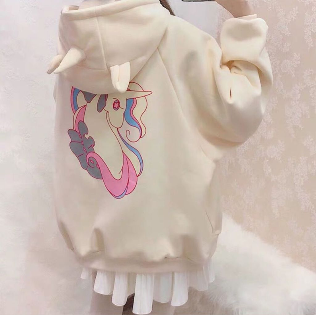 Áo khoác Nỉ Unicorn | Homies SG