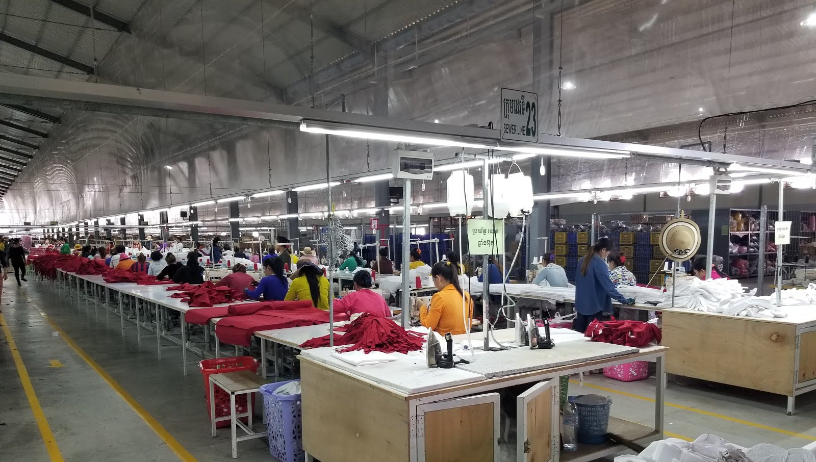 Trip to a Cambodian Garment Factory