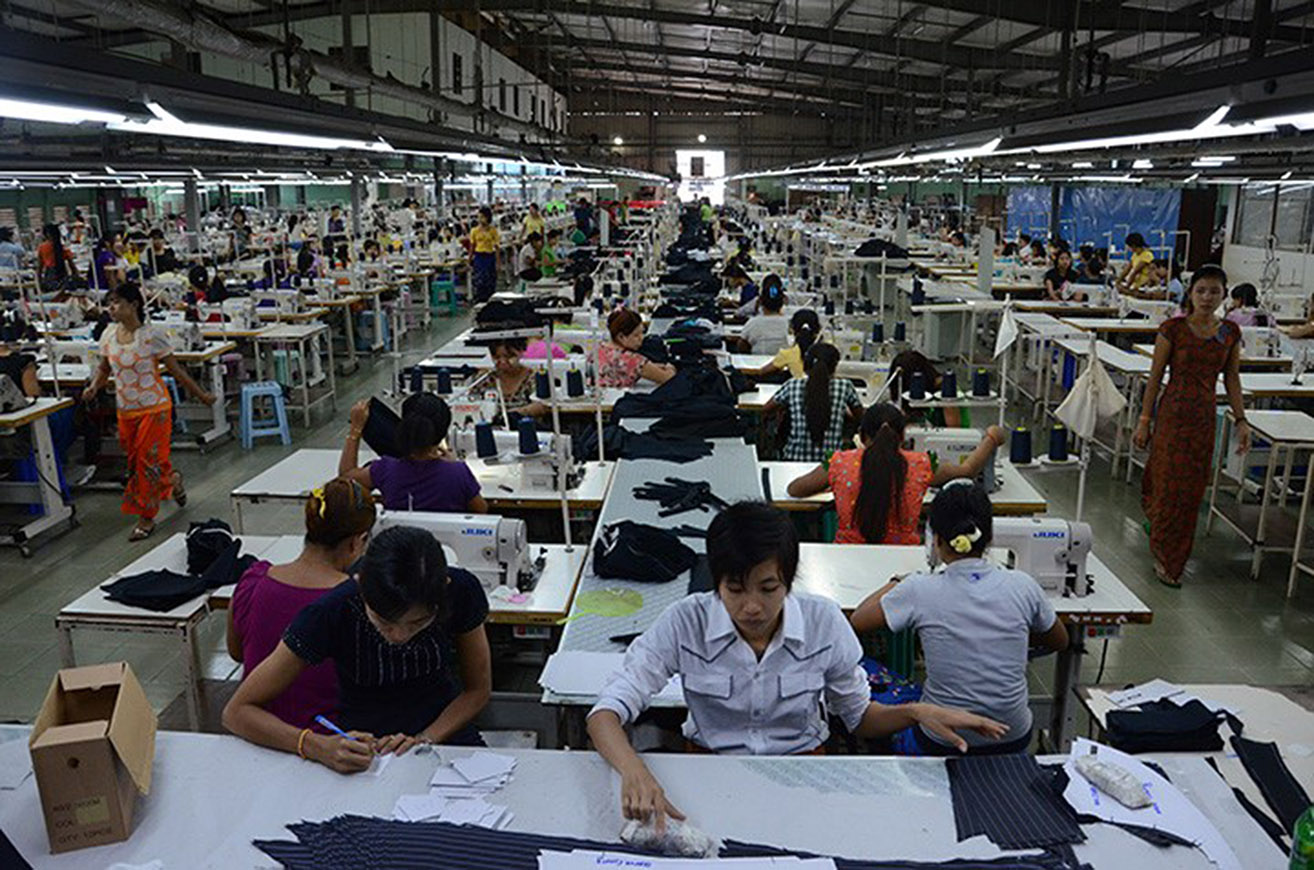 Myanmar Earns US$ 3.6 Bln From CMP Garment Exports In 10 Months - GNLM
