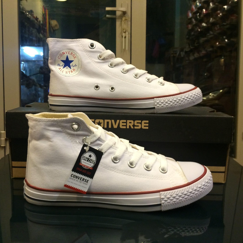 Giày Converse Classic trắng cao cổ - Giày Chọn - Chọn giày chọn cả niềm tin!