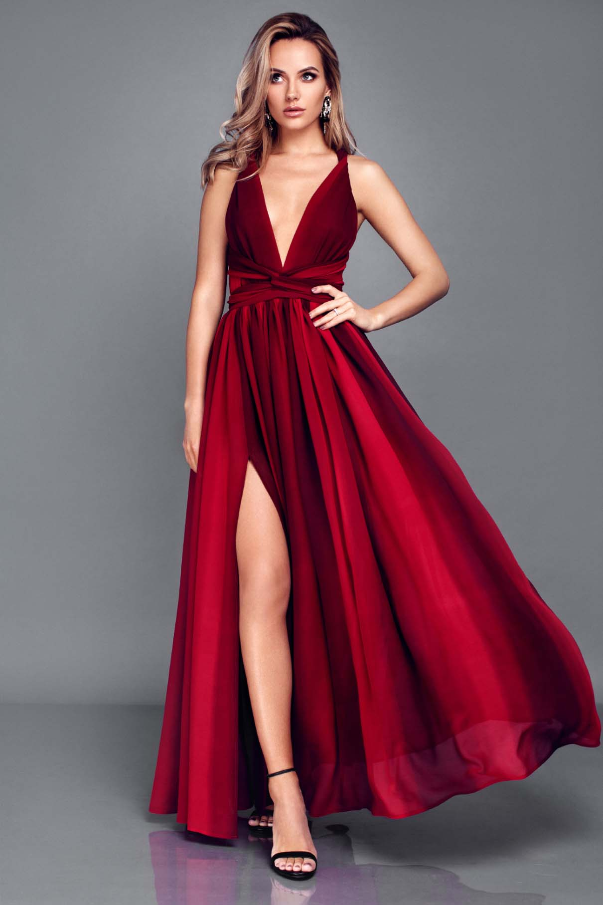 "Multi dress ""Carmen"" | Top To Bottom Fashion"