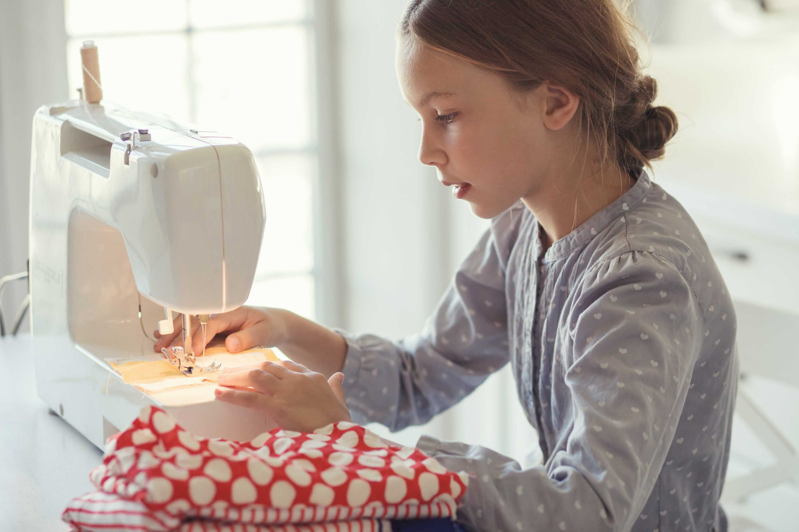 Get the right sewing machine when you want to learn to sew