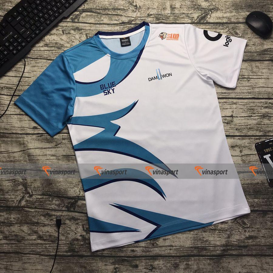Áo thun game thi đấu Esports - Mẫu áo DAMWON GAMING 2020 | Vinasport