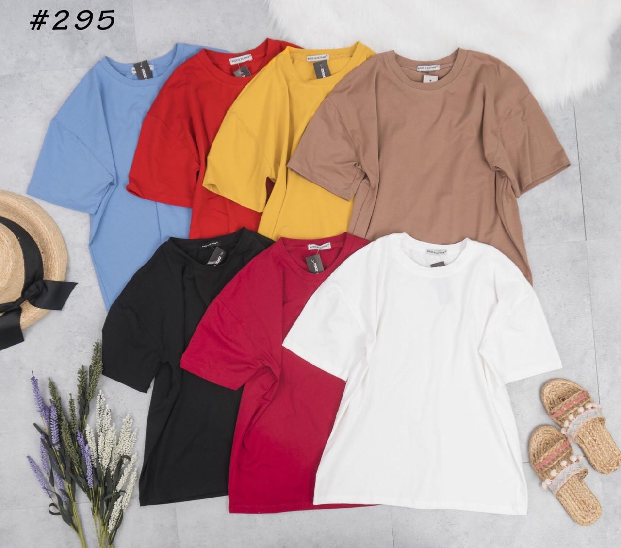 Áo thun trơn basic cổ tròn - Chuyên quần áo nữ đẹp | Mỹ phẩm Nhật chính hãng