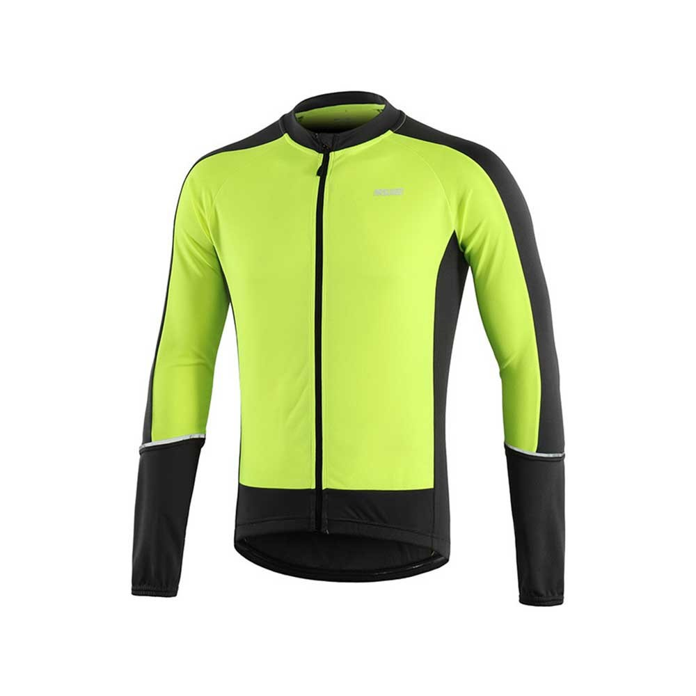 Big Sale] ARSUXEO Quick Dry Cycling Jersey Breathable Full Zipper Sports  Jacket Reflective Bicycle Clothing For Men | Shopee Việt Nam