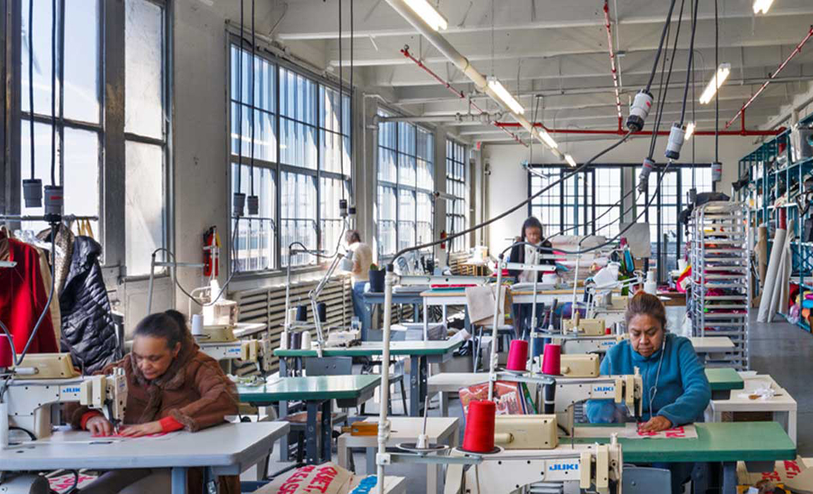 The city's struggling garment industry finds a new home in Sunset Park    6sqft