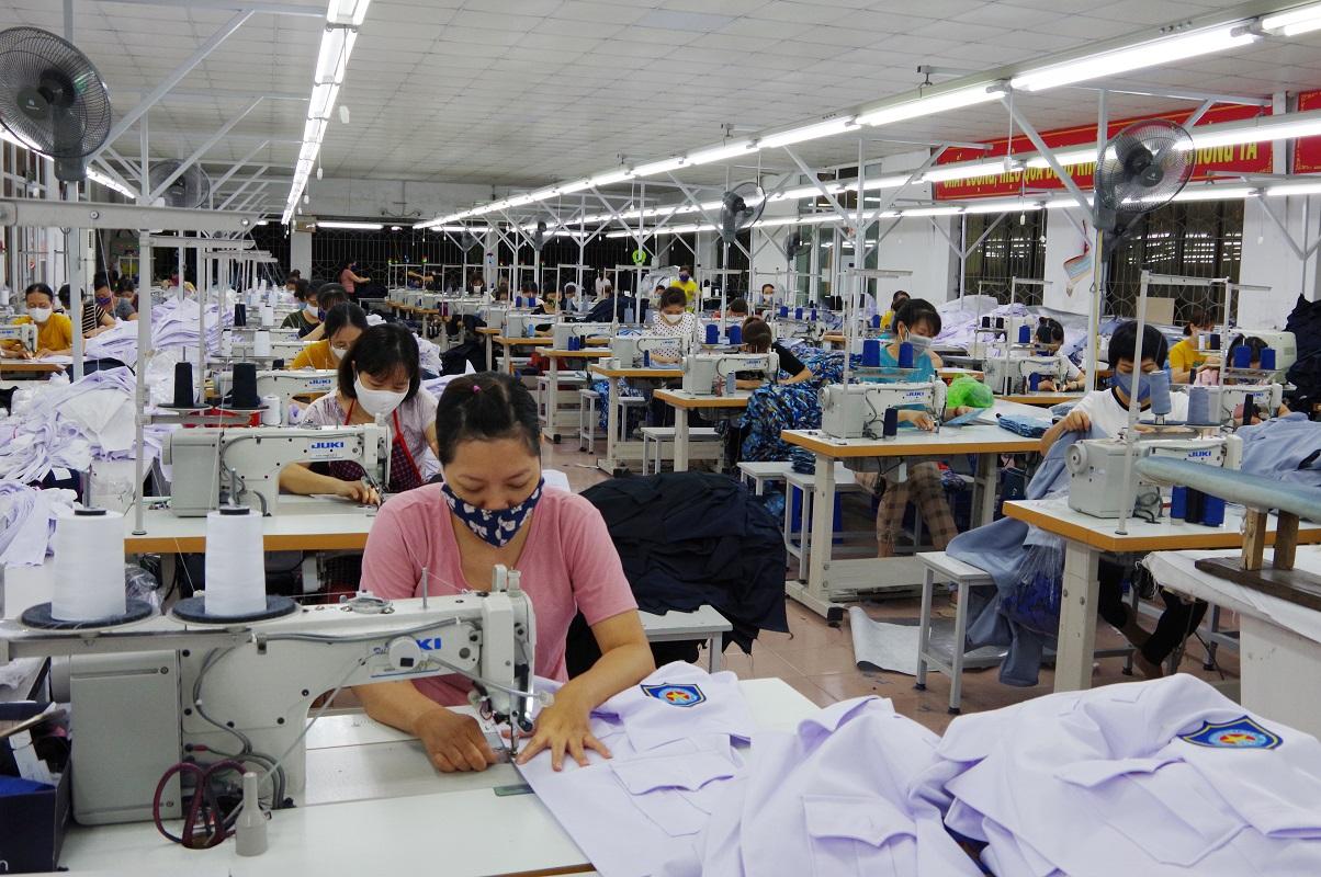 Các xưởng may tại Hà Nội uy tín
