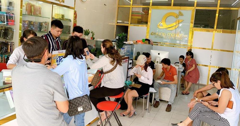 Chung Mobile- Trung tâm sửa chữa điện thoại