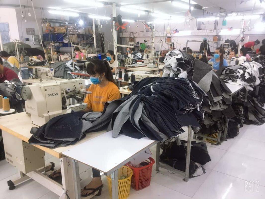 Xưởng Jeans Thuận Hải TP.HCM - Chuyên May Gia Công Jean Theo Mẫu