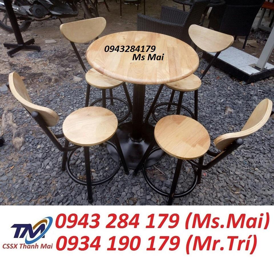 Bàn Ghế Cafe TM-37 | Xưởng Sản Xuất Bàn Ghế Nội Thất Thanh Mai