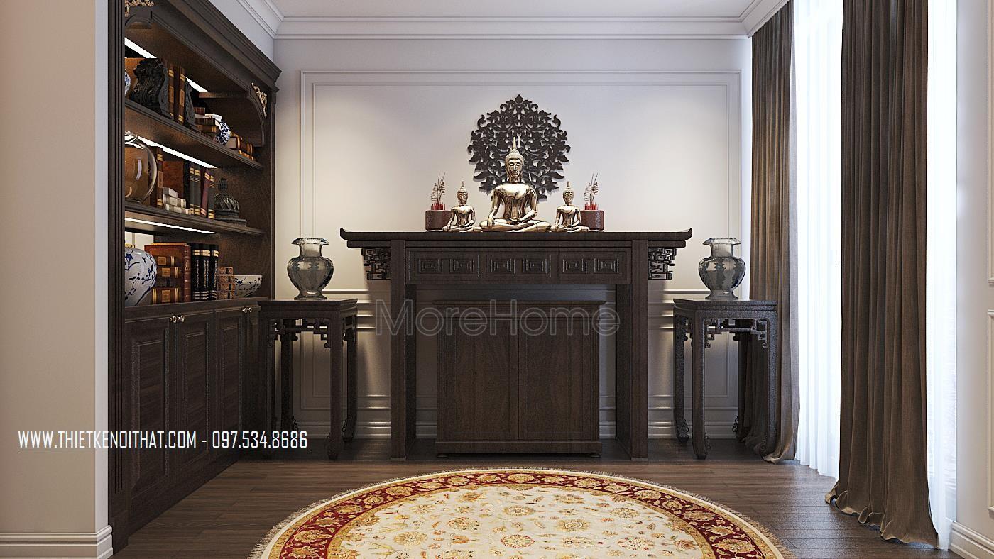 Morehome chuyên sản xuất bàn thờ đẹp, hiện đại cho chung cư, nhà phố, biệt thự