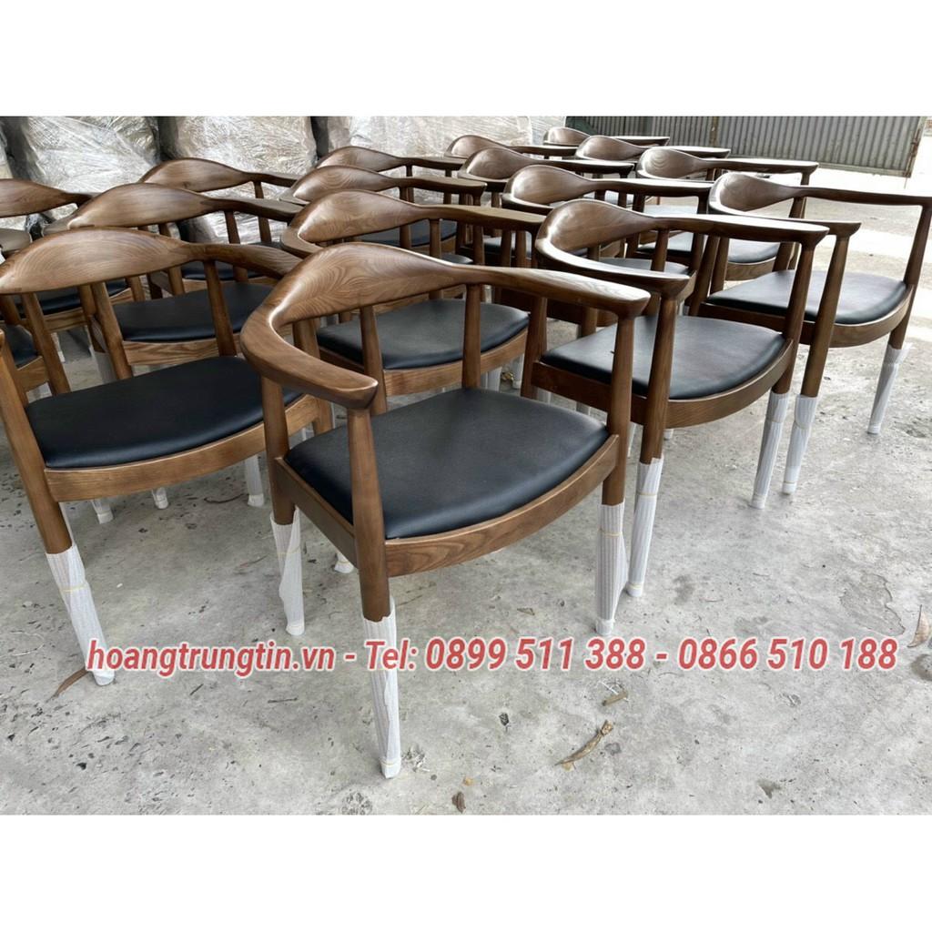 Bàn ghế cafe giá rẻ - Ghế cafe gỗ Ash cao cấp - Giá tại xưởng sản xuất Nội thất Hoàng Trung Tín giá cạnh tranh