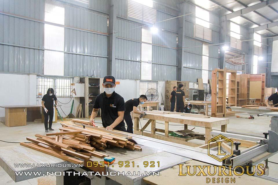 Xưởng Nội Thất Sản Xuất Mộc Minh Đức - Thương hiệu Luxurious