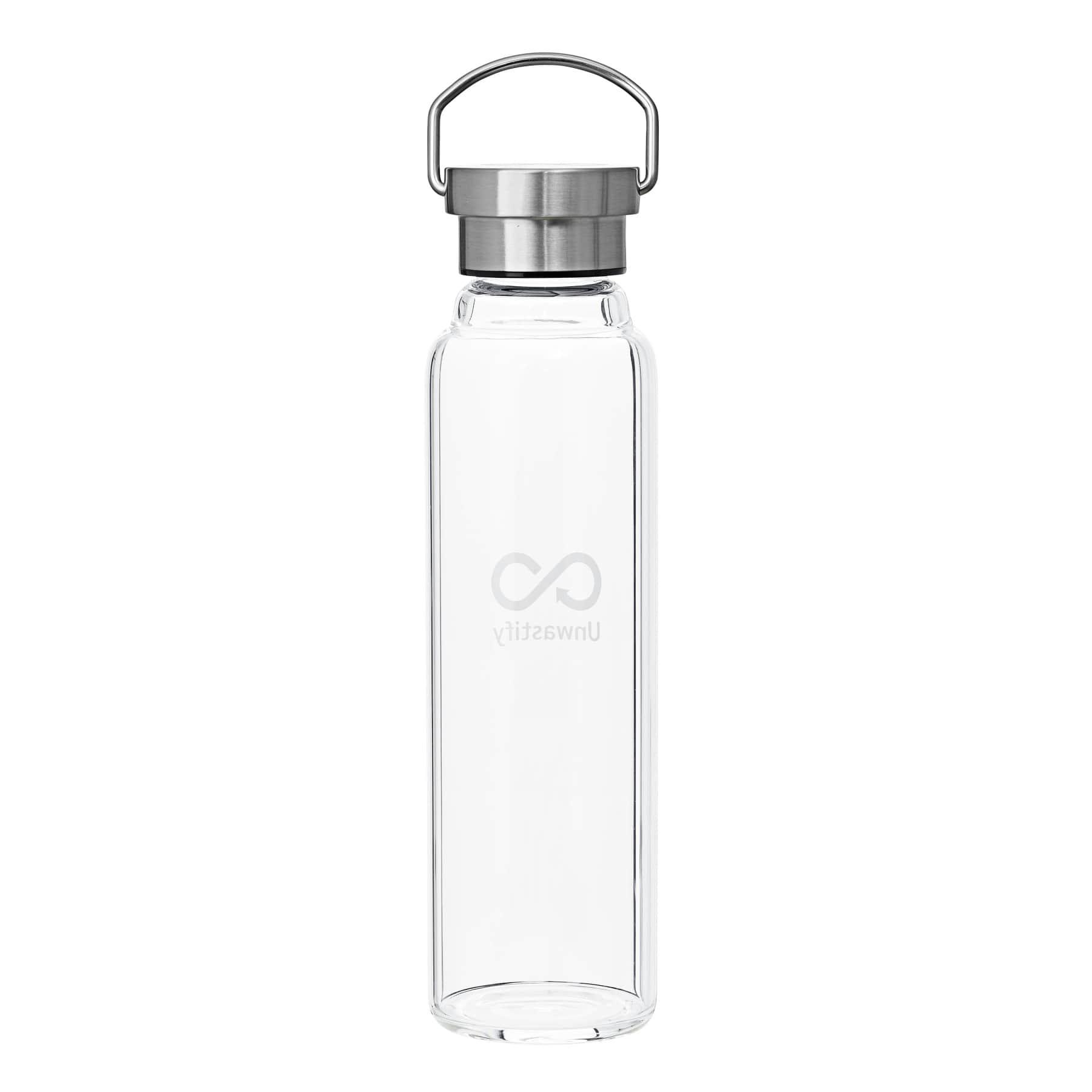 Eco-Friendly Glass Water Bottle 750 ml - Unwastify