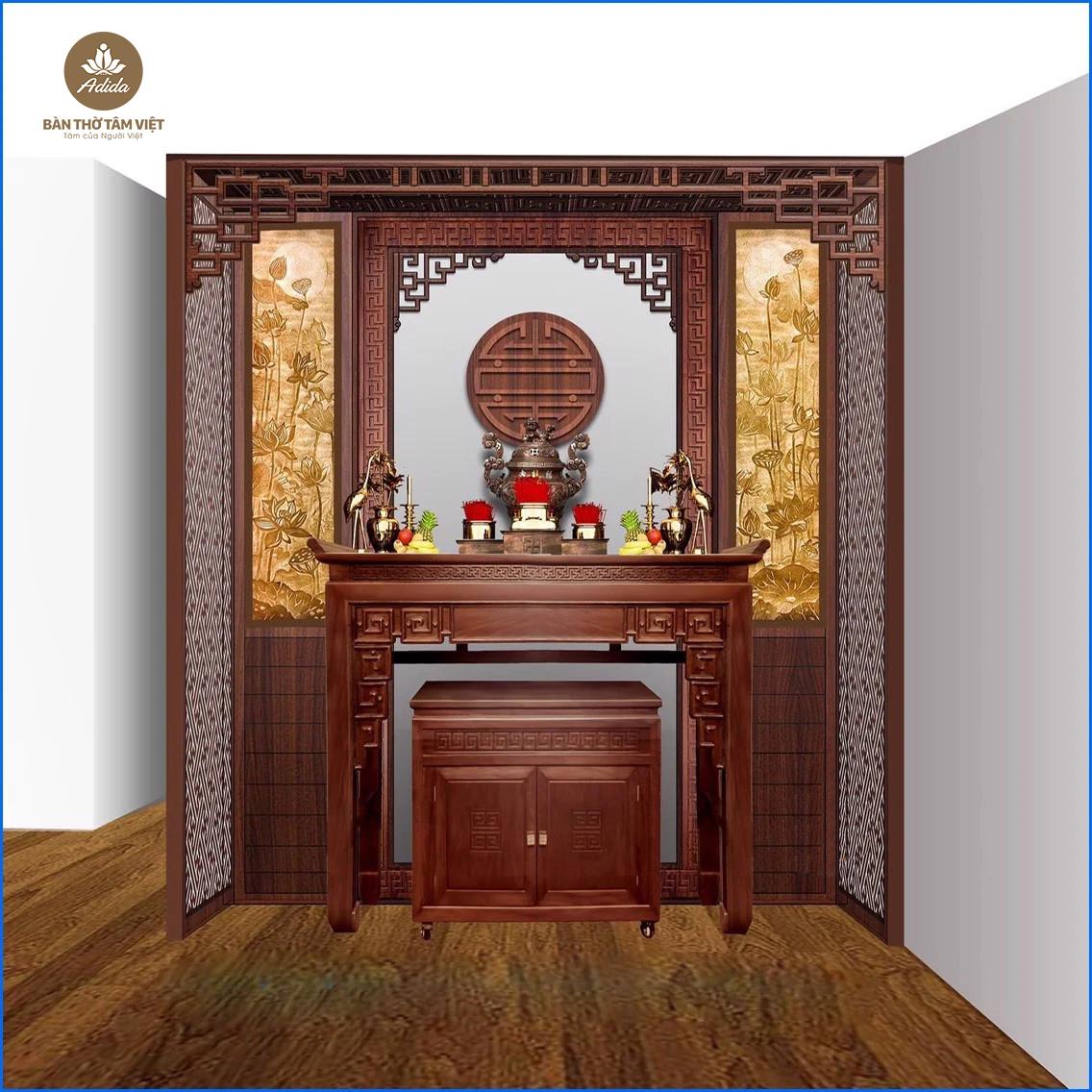 Bàn thờ Phú Quý - TT078 - Bàn Thờ Tâm Việt - Chuyên Sản Xuất Và Phân Phối Bàn Thờ Dành Cho Người Việt