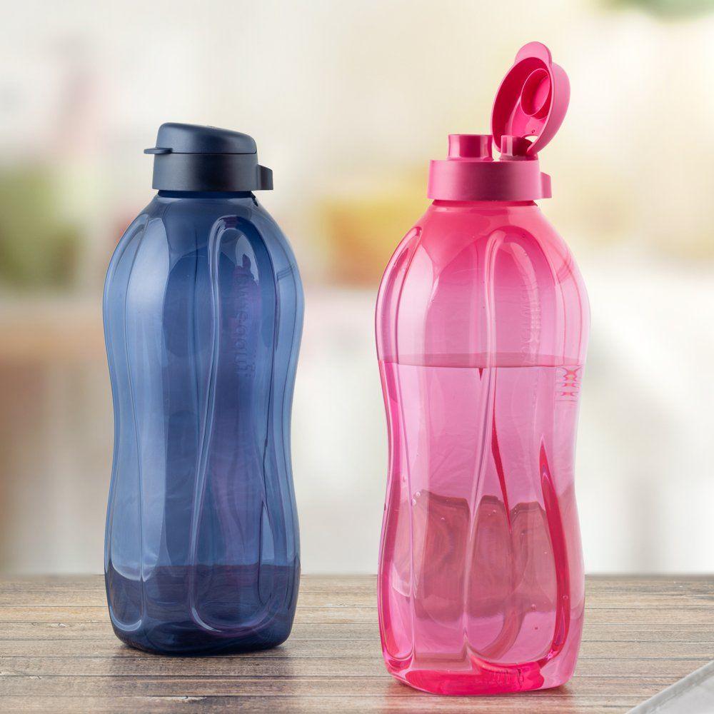 Tupperware Aquasafe 2l Fliptop Bottle 2pc -