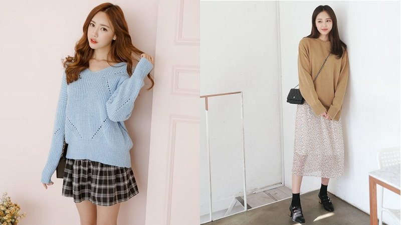 Gợi ý 6 cách phối áo len với chân váy ấn tượng dành cho mùa đông - Phụ nữ Pháp luật
