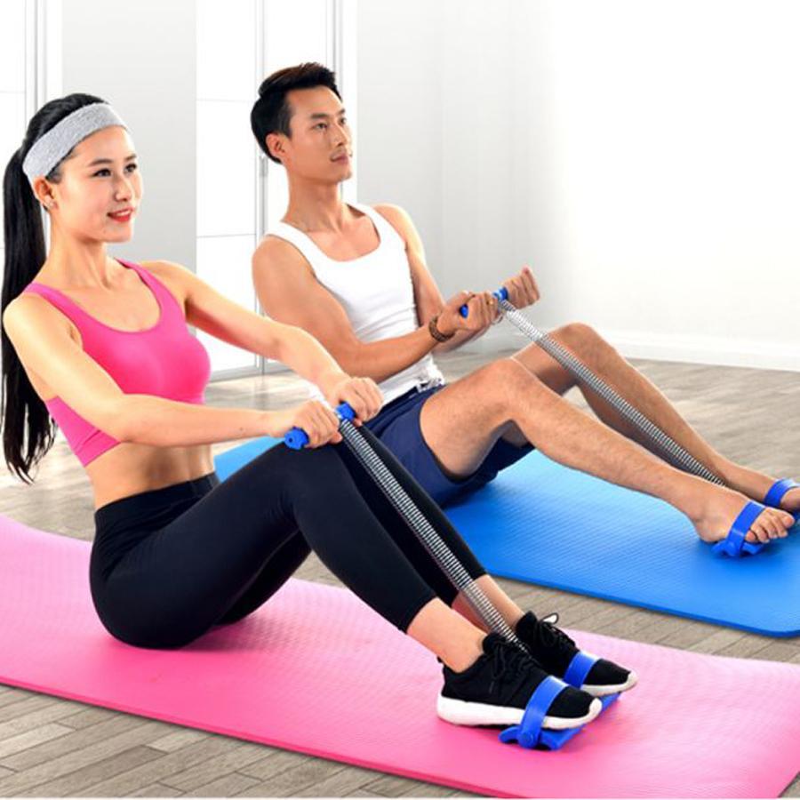 Thảm Tập YoGa 2 Lớp Dày Dặn - Tặng Kèm Dụng Cụ Tập Thể Dục và Thước Đo 3 Vòng (Giao Ngẫu Nhiên Mẫu) - Thảm yoga Thương hiệu OEM | WebSoSanh.co