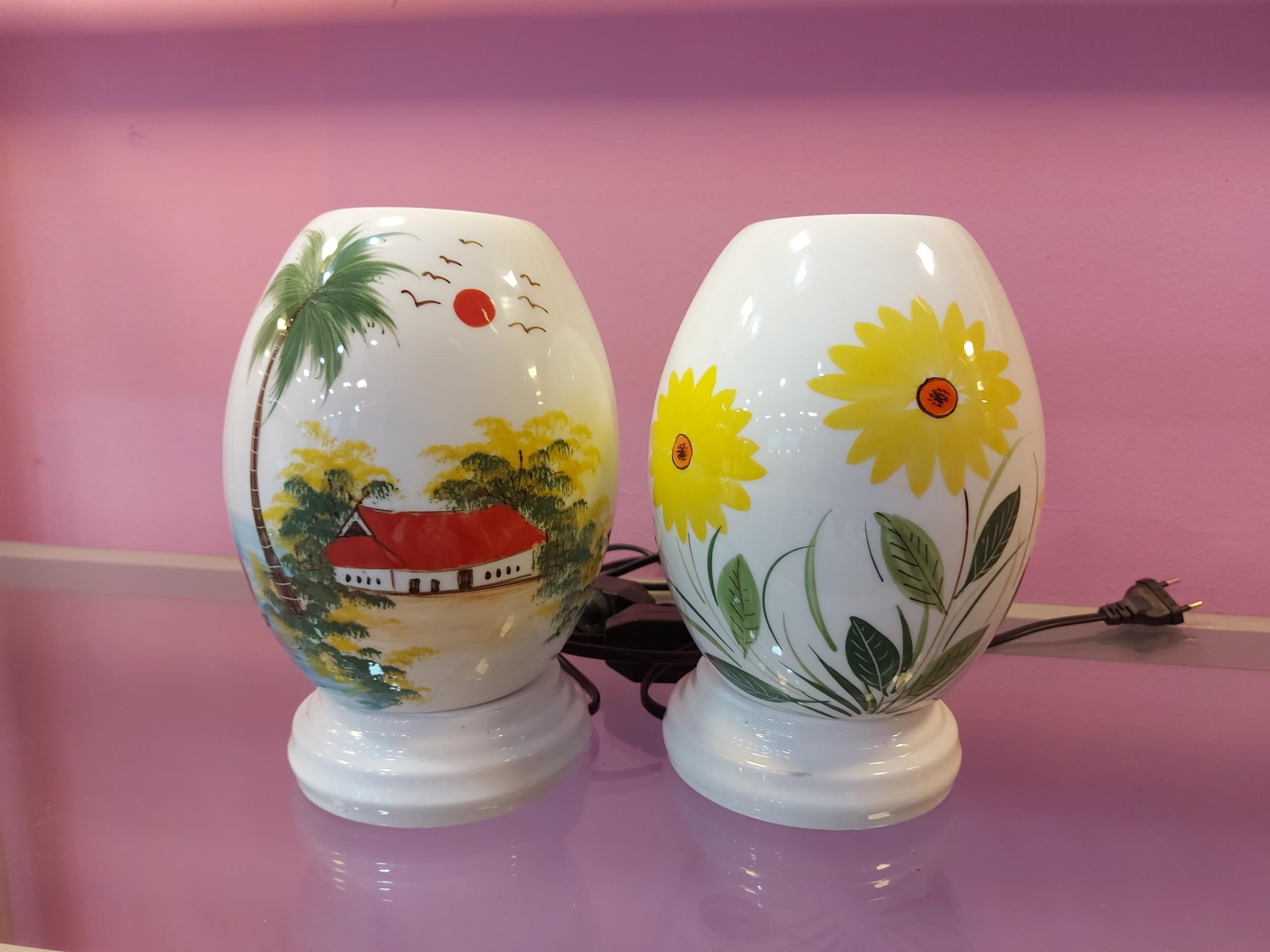 Đèn xông tinh dầu bằng gốm (Loại đại - 20cm) - Mẫu ngẫu nhiên - Quà Huế  Online