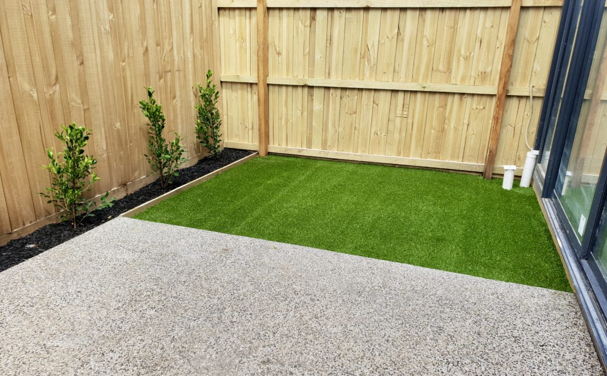 Artificial Grass for Geelong Courtyards - Grass Roots Synthetic Lawns