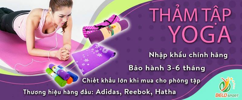Top 9 địa chỉ bán thảm tập Yoga chất lượng nhất tại Hà Nội - Toplist.vn