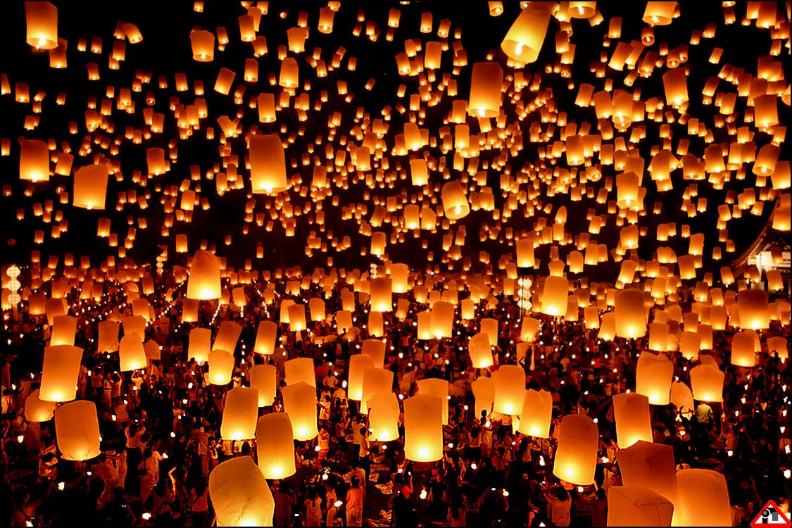 Những chiếc đèn lồng giấy - lung linh mùa Trung Thu