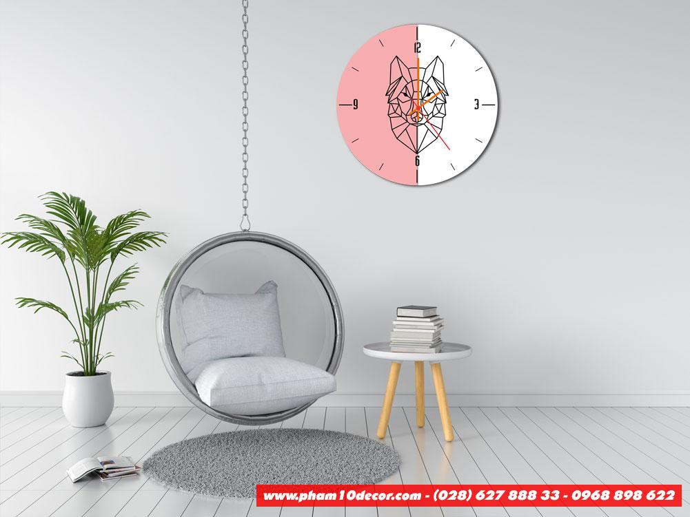 Đồng hồ treo tường đẹp P10-ĐH1021 - Pham10decor - Trang trí nội thất đẹp