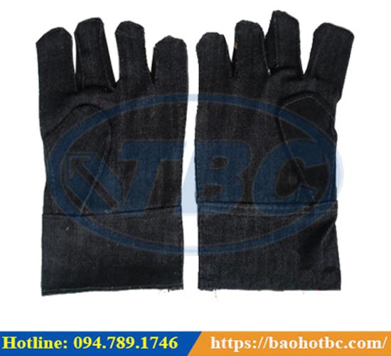 Găng tay vải bò – BẢO HỘ LAO ĐỘNG TBC