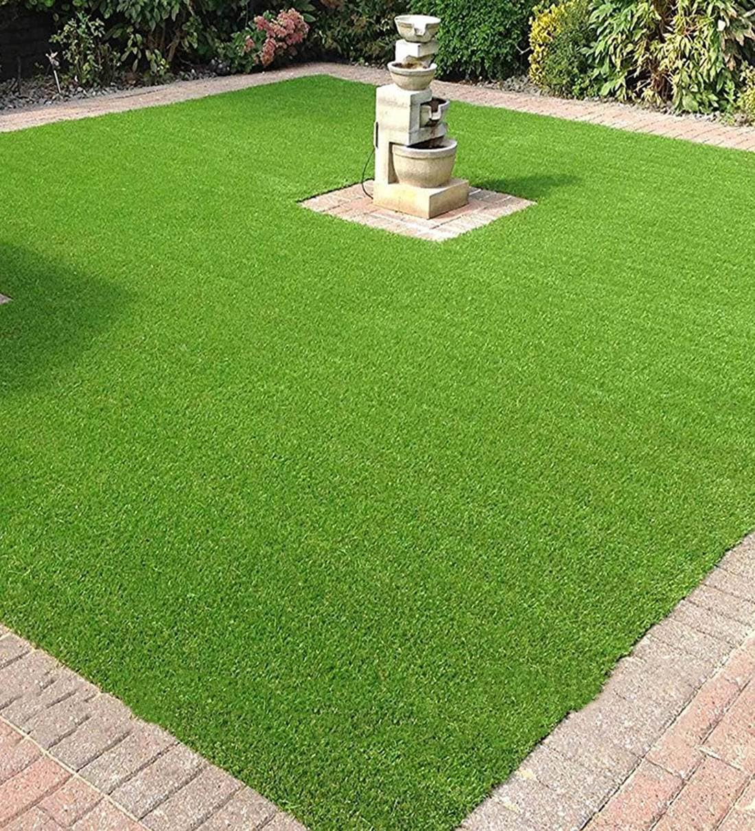 Buy Green Polyster Uv Resistant Artificial Lawn Grass For Balcony, Doormat And Lawn Use By Fourwalls Online - Artificial Grass - Artificial Grass - Home Decor - Pepperfry Product