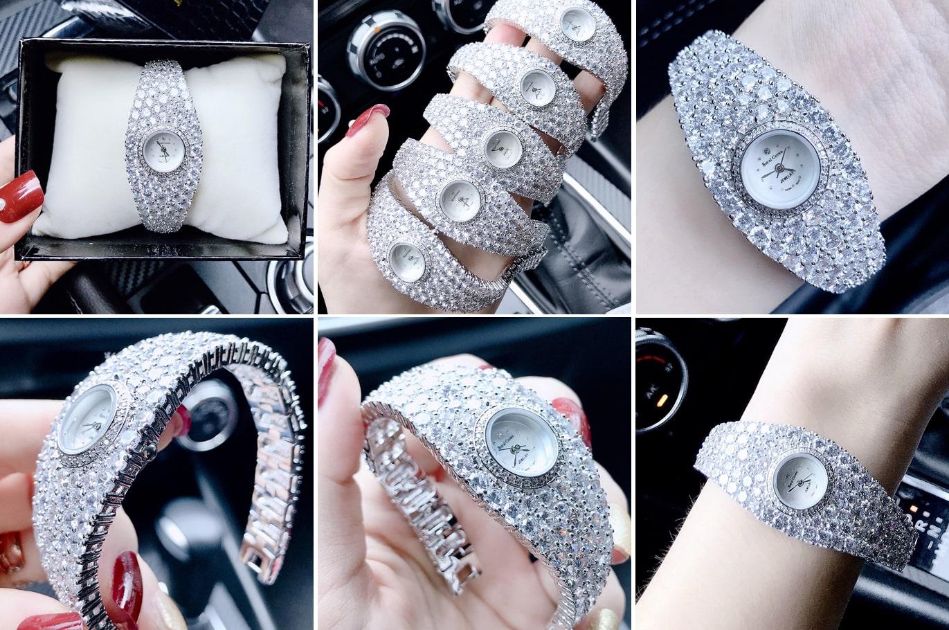 Những mẫu đồng hồ đeo tay nữ cao cấp làm say đắm các chàng trai