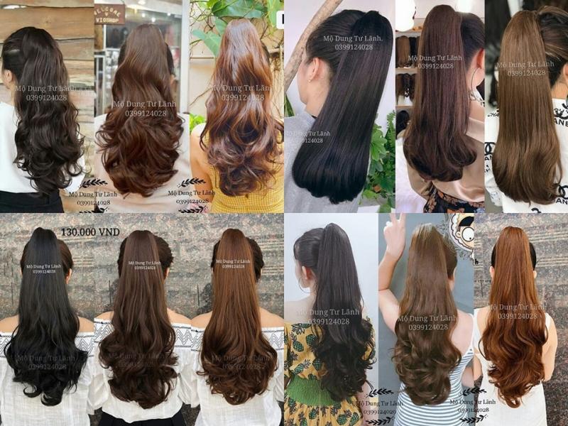 Top 5 Shop bán tóc giả, tóc kẹp đẹp và chất lượng nhất Thái Nguyên - Toplist.vn