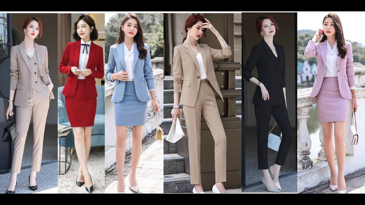 Áo vest nữ cá tính công sở thời trang đẹp 2020 kiểu Hàn Quốc cao cấp nhìn  phát mê. Click xem ngay - YouTube
