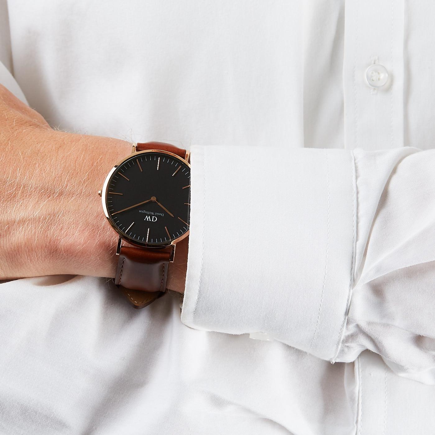 Daniel Wellington Classic Black St Mawes horloge DW00100124 (40 mm) -  Watches