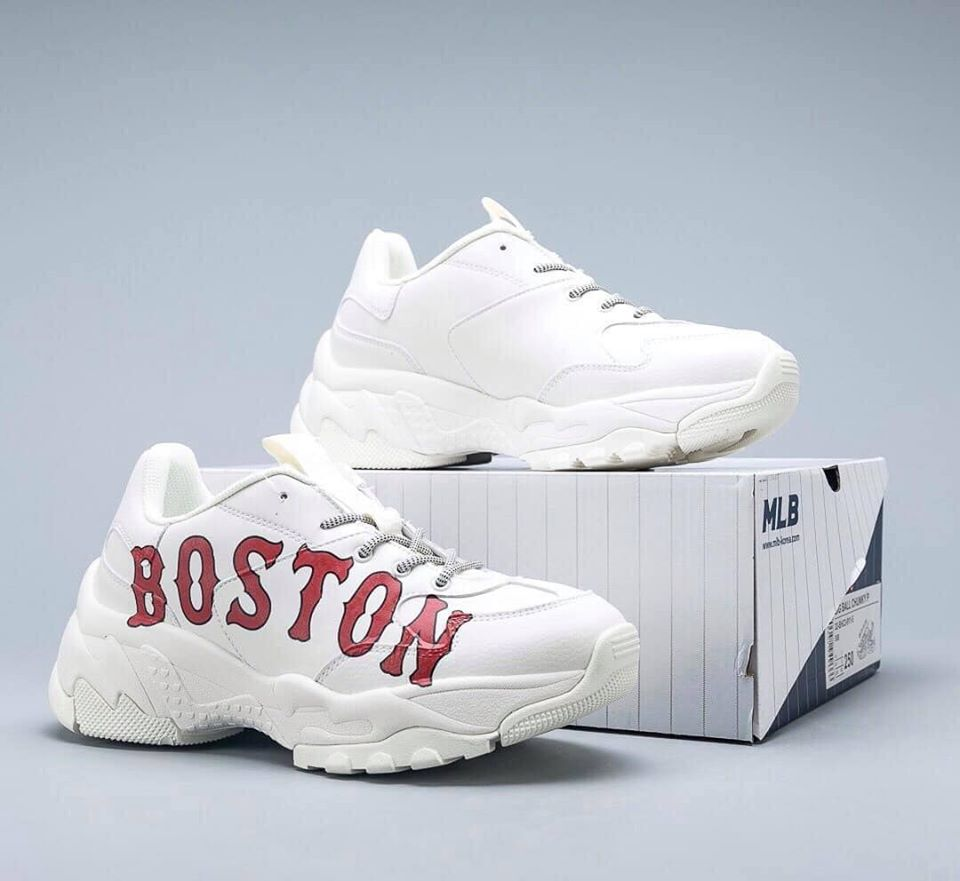 Giày MLB Boston nữ, Like Auth 1 1 - MIDO SNEAKER