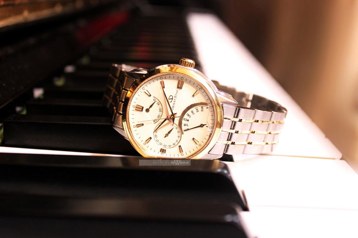 Đồng hồ đeo tay chính hãng Orient Star SDE00001W0 giá rẻ