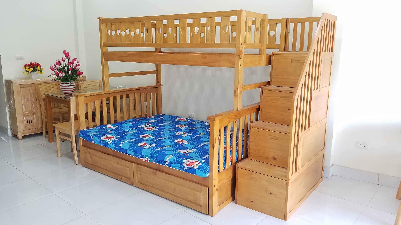 Cửa hàng giường tầng người lớn giá rẻ và đẹp tại Hà nội