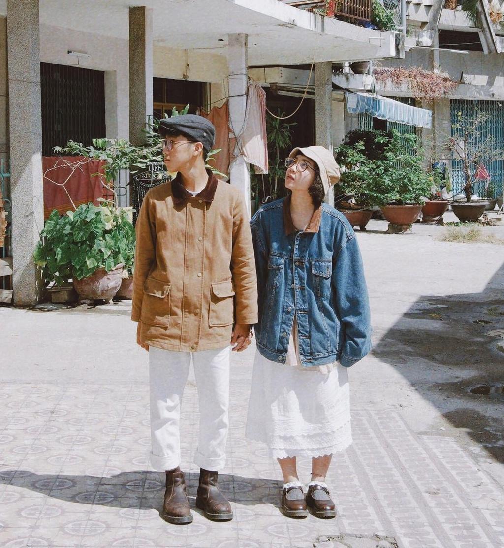 Hai bạn trẻ Nha Trang diện đồ đôi mỗi ngày - Thời trang - Việt Giải Trí