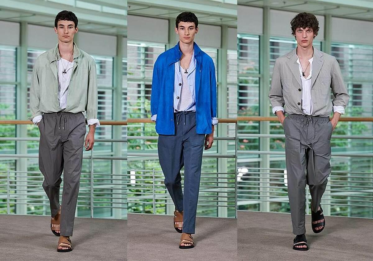 Hermès ra mắt bộ sưu tập thời trang nam Xuân - Hè 2021 - Ngôi sao