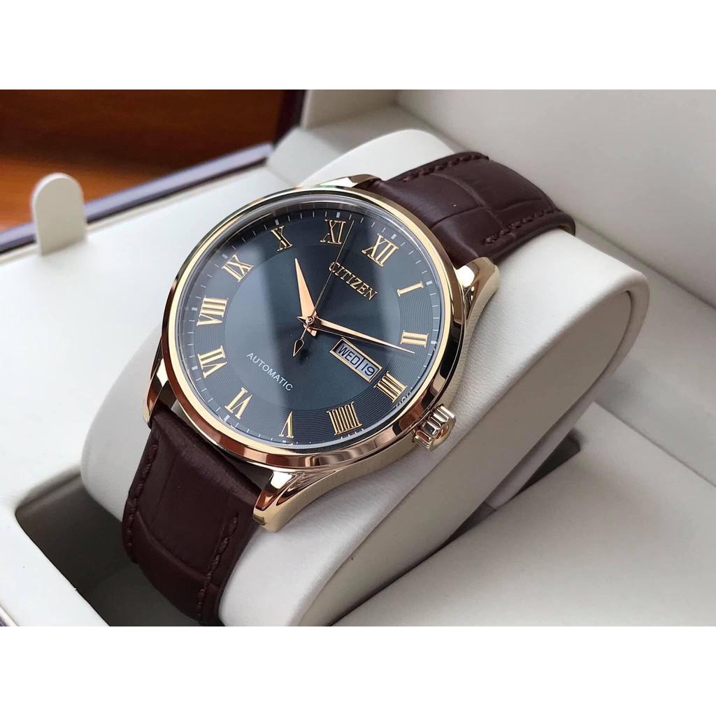 Đồng hồ nam Citizen NH8363-14H máy cơ Automatic Classic - Kính cứng - Dây  da | Shopee Việt Nam