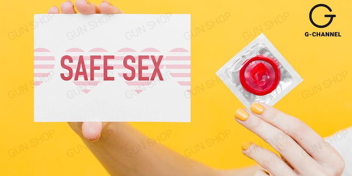 Bao cao su là biện pháp tránh thai an toàn và hiệu quả hàng đầu hiện nay