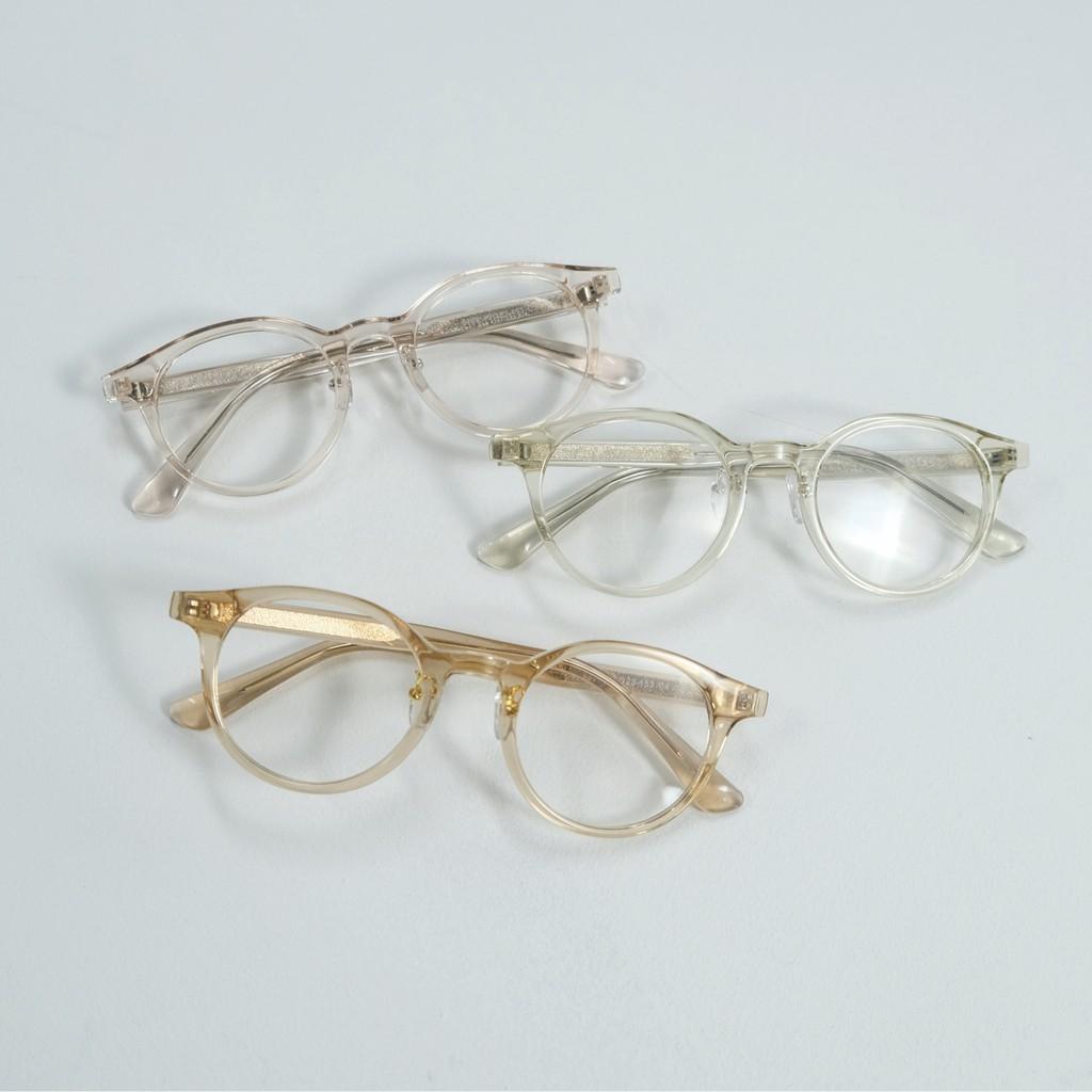 gwilee] plain round glasses - Kính gọng tròn trơn ( 4 màu) (gọng kính cận)  giá cạnh tranh