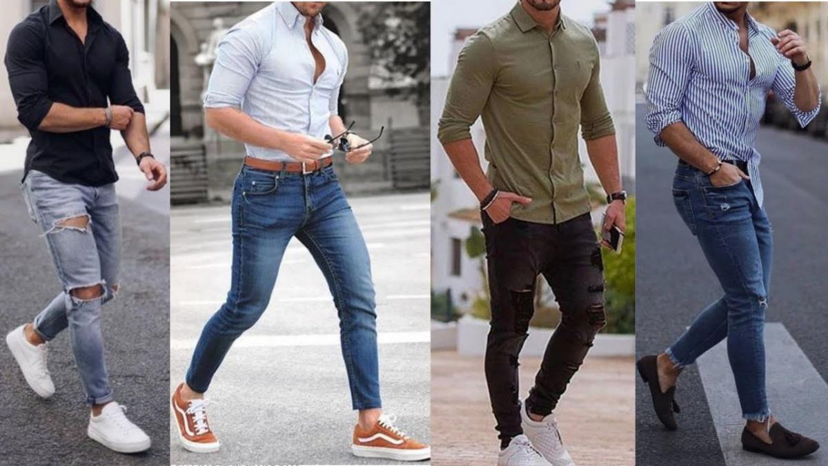 1001 cách phối quần jean với áo sơ mi đơn giản, nổi bật cho phái nam | May  đo vest nam | Veston Duy Nguyễn - Thước Đo Thành Công Của Bạn