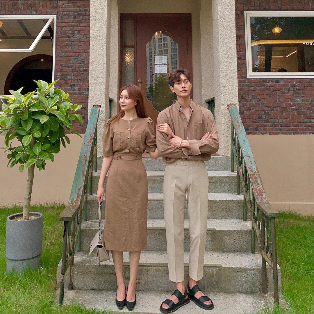 4 chiêu diện đồ đôi xịn mê couple Hàn mách nước cho bạn, đang độc thân vui  tính cũng nên ngắm qua sau này dễ sẽ cần đến