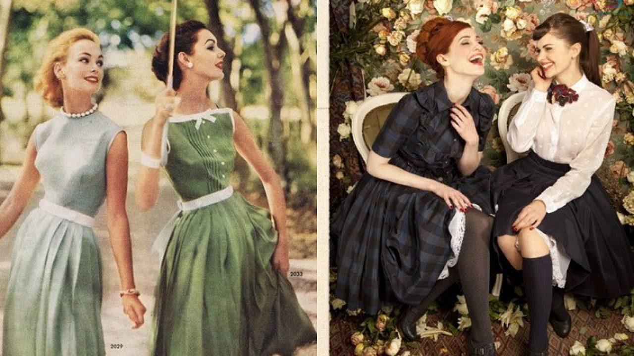 Thời trang vintage và sự hấp dẫn trường tồn với thời gian