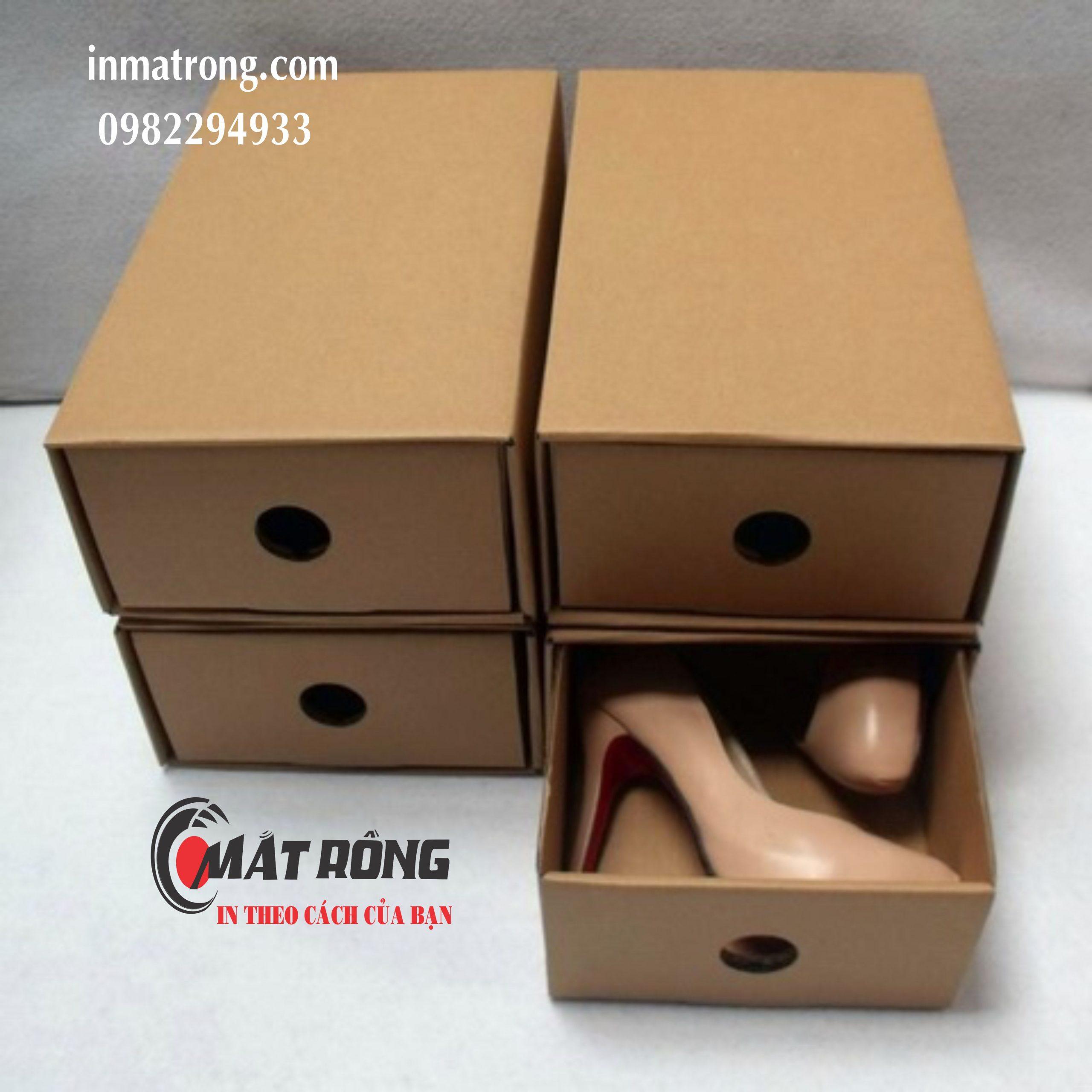 Top 10 Xưởng sản xuất hộp giấy đựng giày uy tín2
