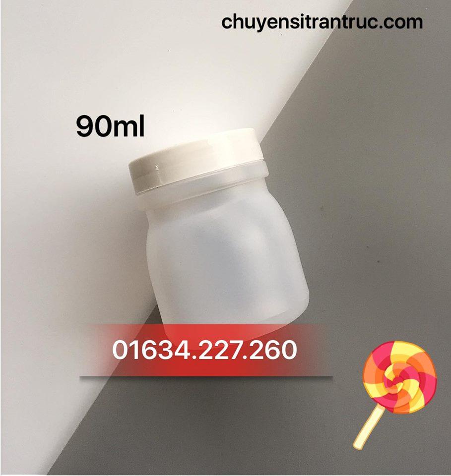 Hủ nhựa sữa chua 90ml ♥️ Mua hủ nhựa sữa chua giá rẻ TPHCM ?